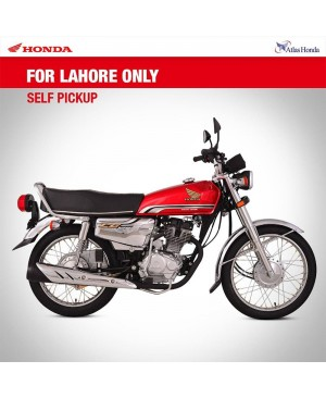Honda CG125 Self Special Edition (Red Colour)
