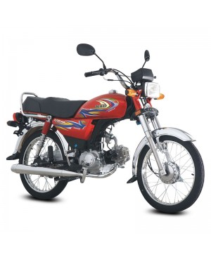 US-70cc Euro-II Motor Bike Red